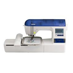 6. Brother Designio Series DZ820E Embroidery Machine With Bonus Embroidery Hoops