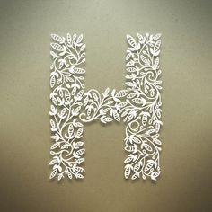 Botanical Alphabet on Behance