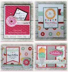 Scrapbooking Kits: Sugar Rush Birthday Card Kit - SOLD OUT