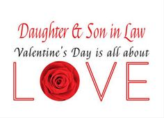 Son daughter in law happy valentines day pink hearts valentine s son daughter in law happy valentines day pink hearts valentine s day card card card card sons and business m4hsunfo