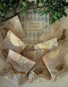 Tea bag LAVENDER SACHETS by nikyscreationsdesign on Etsy, €5.00