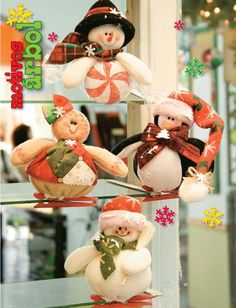 Moldes o patrones para elaborar hermosos muñecos navideños ALBUM 37 WhatSap… Christmas Fabric, Felt Christmas, Christmas Snowman, Christmas Time, Christmas Crafts, Christmas Decorations, Xmas, Christmas Ornaments, Holiday Decor