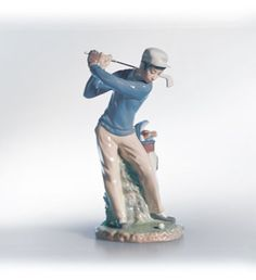 LLADRO - GOLFER  Available at Houston Jewelry  www.houstonjewelry.com