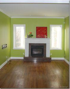 gr ne wandfarbe in der k che im landhausstil ideen rund ums haus pinterest gr ne wandfarbe. Black Bedroom Furniture Sets. Home Design Ideas