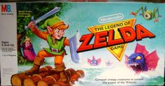 25 Pieces of Zelda Merchandise You Didn't Know Existed The Legend Of Zelda, Legend Of Zelda Merchandise, Old Board Games, Creepy, Video Games, Nerd, Creatures, Fictional Characters, Image
