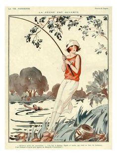 La Vie Parisienne, Jacques, 1924, France Giclee Print at AllPosters.com