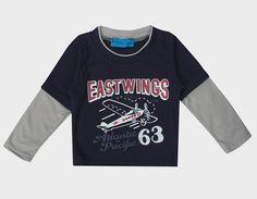 Boys' Mock Long Sleeve T-Shirt - Black  #shopping #canadaonline #shoppingonline #fashionista #onlinestore #instalikes #shoppingday #instagram #fashion #Oasislync