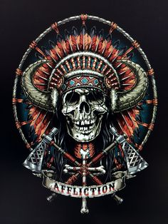 1000 images about affliction on pinterest skull design search and mma shorts. Black Bedroom Furniture Sets. Home Design Ideas