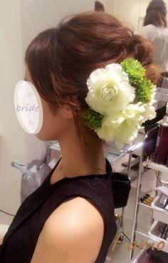 ドレスから和装へチェンジ!ルーズな4スタイル♡リハ篇 の画像|大人可愛いブライダルヘアメイク 『tiamo』 の結婚カタログ