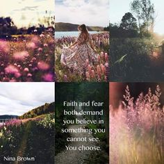 Faith or fear; you chose Light Of Christ, Warrior Spirit, Mood Colors, Beautiful Collage, Pretty Quotes, Wonderful Images, Wonderful Things, Walk By Faith, Colour Board