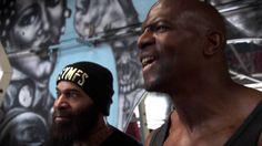 Terry Crews vs C.T. Fletcher - CARNAGE!!! Ft. Big Rob,Samson Strong & Legendary Bulo - YouTube