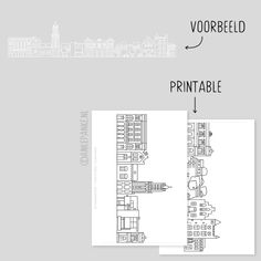 Raamtekening.nl | Utrecht raamtekening