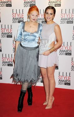 Vivienne Westwood and Watson at the 2011 Elle