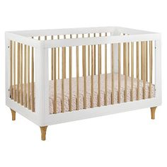 Babyletto Lolly 3-in-1 Convertible Crib W/toddler Bed Conversion Kit