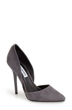 Steve Madden 'Varcityy' Suede Pointy Toe Pump (Women) | Nordstrom