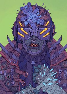The Future Is Now: Cyberpunk Illustrations Of A Dystopian Future – Design You Trust Cyberpunk Kunst, Cyberpunk 2020, Street Art, Cyberpunk Aesthetic, Arte Robot, The Future Is Now, Jolie Photo, Sci Fi Art, Art Inspo