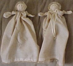 Plantation Dolls ; great #DIY shoebox item.  I made these before.  Love them... Then you crochet on the bottom