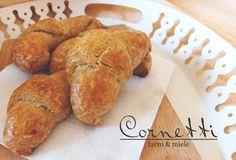 Cornetti a lievitazione naturale, con farina di farro e miele   L'idea Pellegrina Foodblog