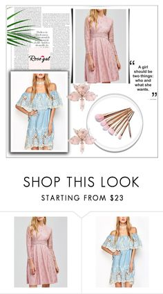 """""""Rosegal"""" by mayabee88 ❤ liked on Polyvore featuring Summer, MustHave, rosegal and buyhere"""