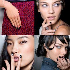 Tendencias de esmaltes de uñas, los colores de moda para la primavera 2014