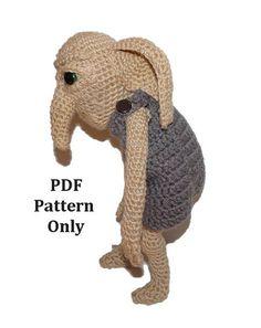Amigurumi Niffler : Harry Potter Niffler Amigurumi Pattern PDF - Fantastic ...
