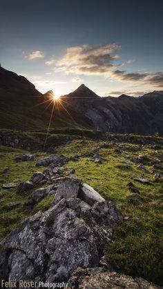 Sonnjoch, Karwendel by Felix Röser