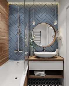 - Modern Interior Designs - White Bathroom Ideas - These dazzling white washrooms provide layout ideas f. White Bathroom Ideas - These dazzling white washrooms provide layout ideas for every person. Modern Bathroom Design, Bathroom Color, Bathroom Decor, Bathroom Goals, Amazing Bathrooms, Interior, Bathroom Makeover, Bathroom Interior Design, Bathroom Design