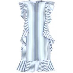 Striped Ruffled Dress by New Revival