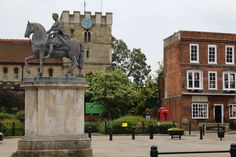 Petersfield town square