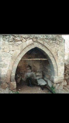 Fountain-Historic fountain-Constructive: Unknown-Year built: Unknown-Çay street-Harım neighborhood-Bor-Niğde