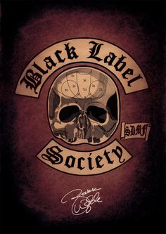 Black Label Society Poster. SDMF