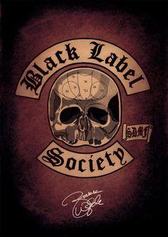 Black Label Society Poster. SDMF