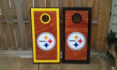 Pittsburgh Steelers custom Cornhole Boards