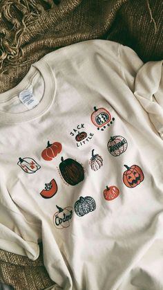 Pumpkin T Shirt Halloween Shirt Screen print shirt Foodie Gift Clothing Gift – Style Tips