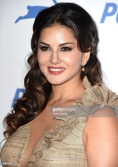 Sunny Leone arrives at the PETA