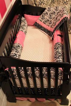 Love the crib bedding!