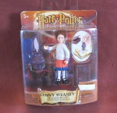Ginny Weasley Magical Minis Harry Potter Action Figure 2002 NEW White Sweater