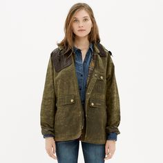 Barbour® Ware Jacket : jackets & outerwear | Madewell