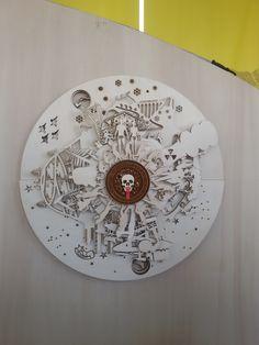 VOYAGES EXTRAORDINAIRES by Claudio Colucci. #fuorisalone2016 #mdw2016 #milan #venturalambrate #venturadistrict #cuckoo #clock #cucù