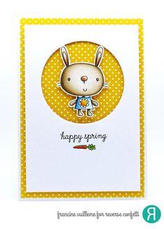 1001 cartes: Reverse Confetti – April Guest Designer