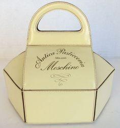 Rare Vintage Moschino Pastry Box Handbag