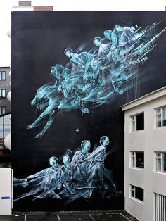 CULTURE N LIFESTYLE — Ghostly Street Art Illustrations by Li-Hill...