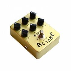 JOYO JF-13 AC Tone Vintage Tube Amplifier Effect Pedal -It gives you that 'toppy' brittle,British amp sound that EL84 valves give you. Very good at bringing out the tonal quality of a humbucker. The 'voice' control gives you tons of tone option.
