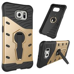 Luxury For Samsung Galaxy S6 Edge Case Rotating Bracket Galaxy S6 Edge Plus Phone Case For Samsung s6 Shockproof G9250 G9280