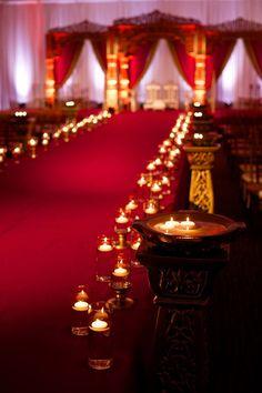Wedding Planners - Eventrics | Wedding Event Design - Occasions by Shangri-La | Photographer - Jensen Larson Photography | Venue - Grand Hyatt Tampa | Indian Wedding Ceremony