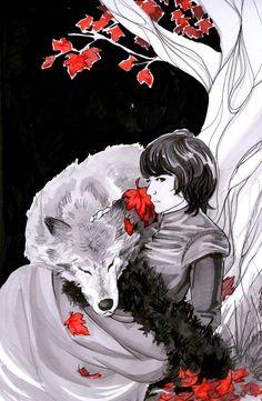 Bran Stark by ~monizc