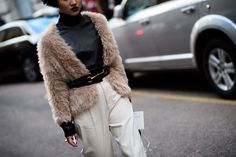On the Streets of Milan Fashion Week Fall 2015 - Milan Fashion Week Fall 2015 Street Style Day 1