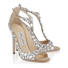 f6e6a1b3cc04 2016 Luxury Diamond Wedding Shoe Jeweled Heel Gladiator Sandals Women Rhinestone  Crystal Embellished T Strap Summer Party Pumps(China (Mainland))