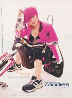 2002-2003: Kelly Osbourne for Candie's!