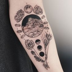 Sierra Nevada centered in the elbow ditch, nestled into a lunar calendar and framed by amethyst, poppy, and saffron. By Pony Reinhardt at Tenderfoot Studio in Portland, OR. For more, follow on IG: freeorgy